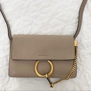 Chloe Bags - Chloe Motty Grey Leather Small Faye Bag